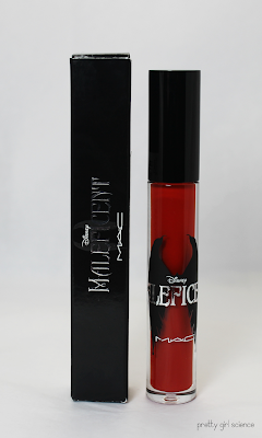 MAC Prolongwear Lipglass in Anthurium by Bedlam Beauty