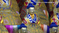 Inside Drepung monastery in Tibet