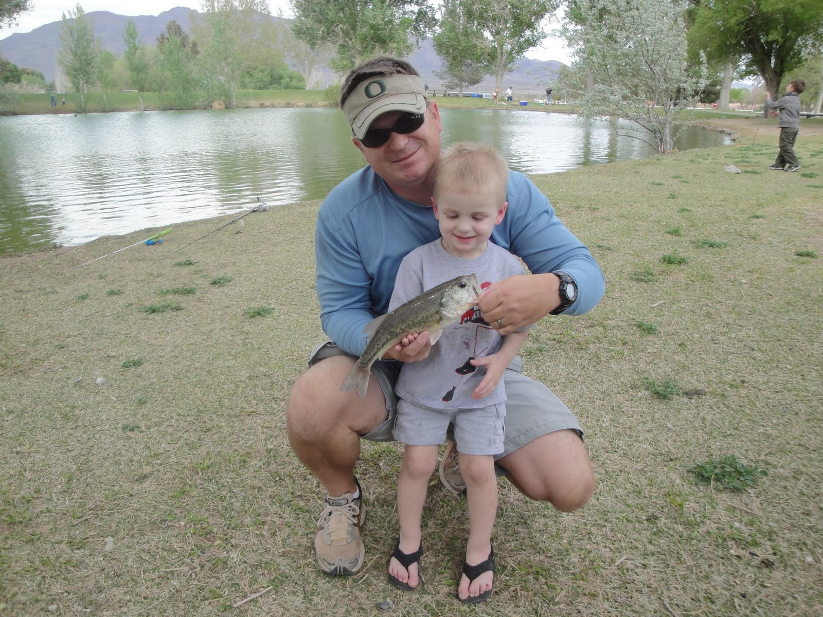 Ryan the fishing addict southern nevada pond largemouth for Floyd lamb park fishing