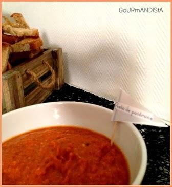 image Pesto de poivrons rouges