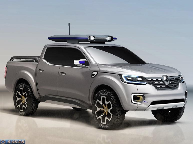 renault alaskan pickup truck concept car reviews new car pictures for 2018 2019. Black Bedroom Furniture Sets. Home Design Ideas