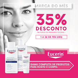 Eucerin  35% de desconto
