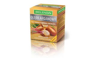 Krem z olejkiem arganowym Bielenda