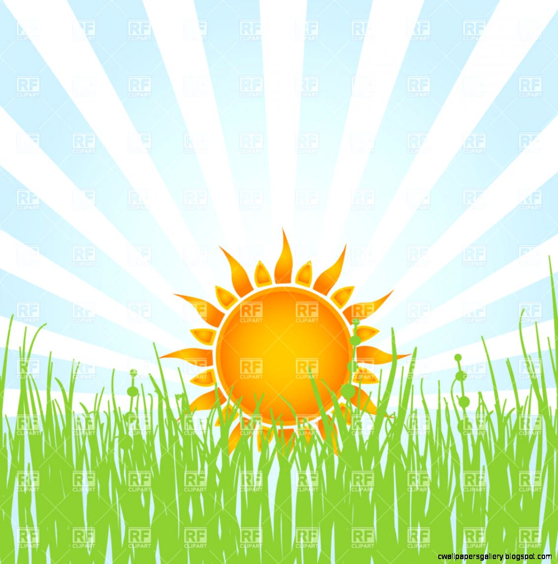 Morning Sunrise Clipart   Clipart Kid