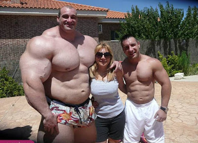 Largest female bodybuilder in the world