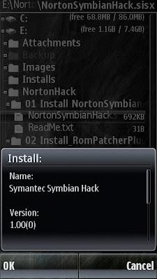 Symantec Symbian Hack