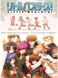 Ver Little Busters! sub español online descargar