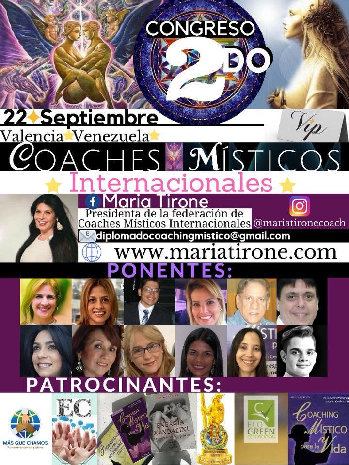 SEGUNDO CONGRESO DE COACHING MISTICO INTERNACIONAL