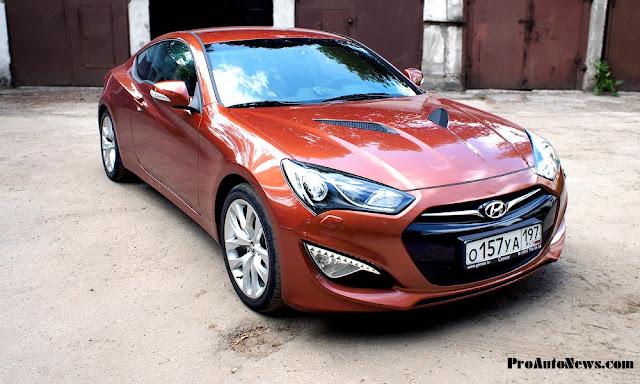 фото Hyundai Genesis Coupe