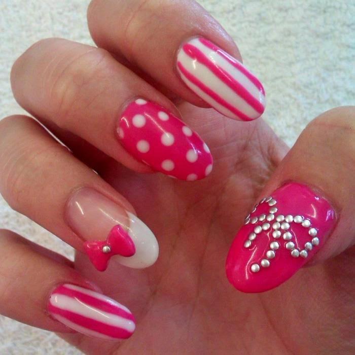 Diseños de uñas decoradas