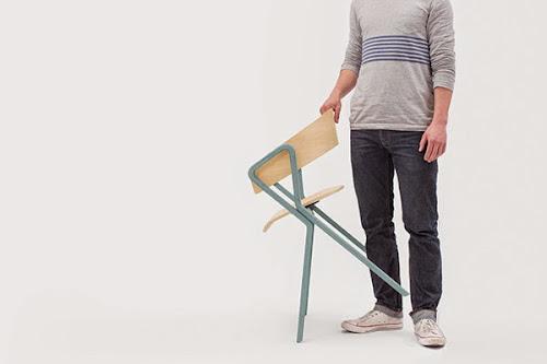 LOOP Chair by Max Kimpel
