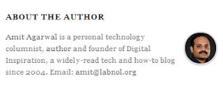 short bio of author of labnol