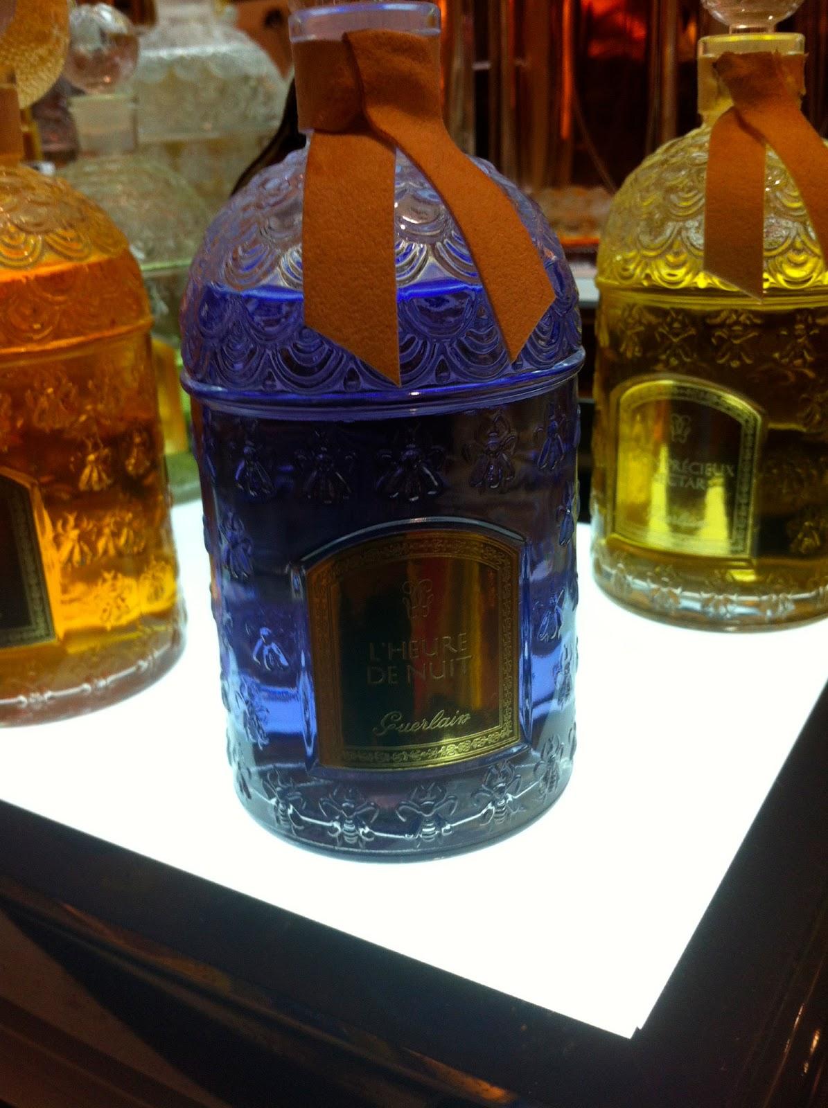 perfume smellin 39 things perfume blog guerlain l 39 heure de nuit. Black Bedroom Furniture Sets. Home Design Ideas
