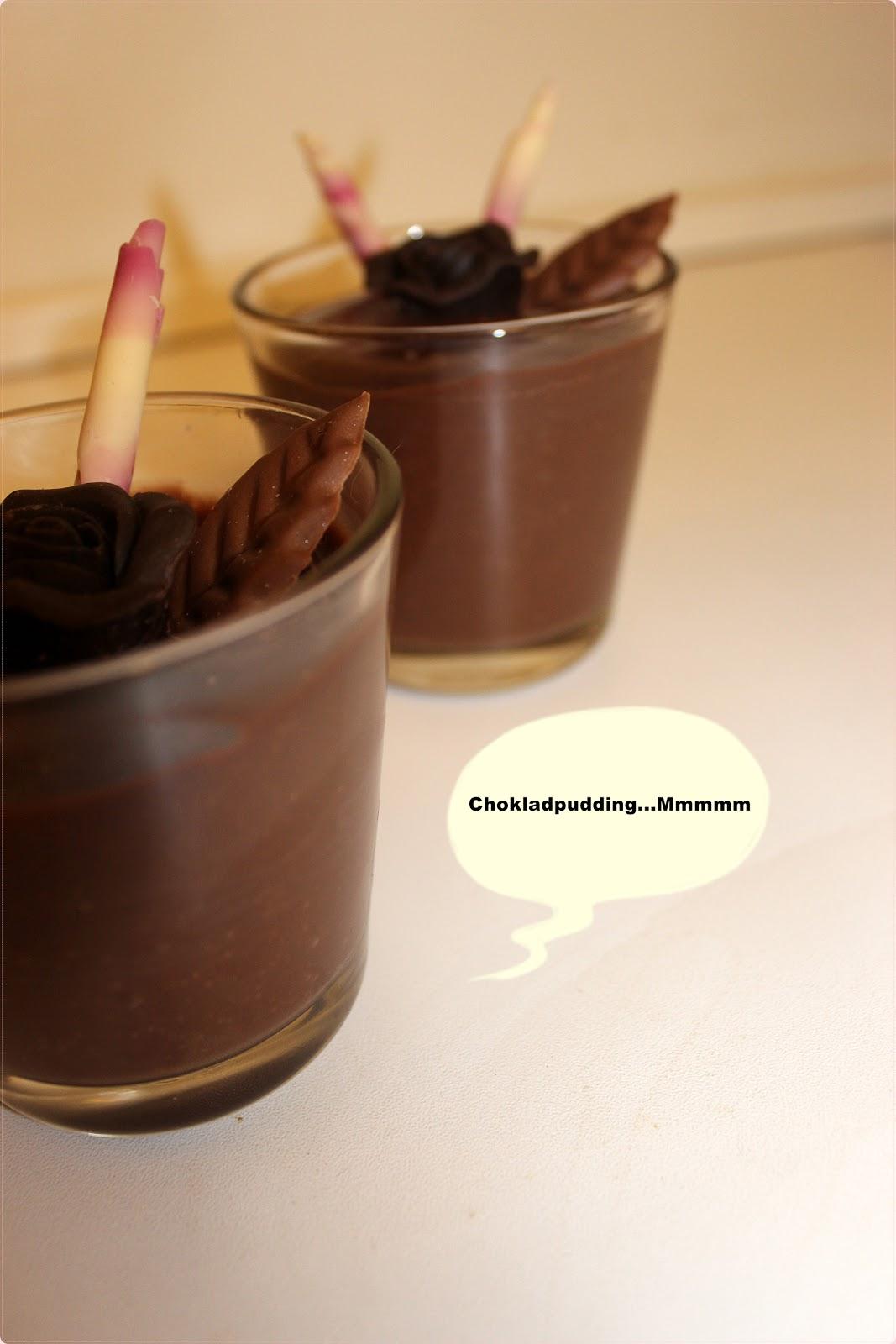 hur gör man chokladpudding