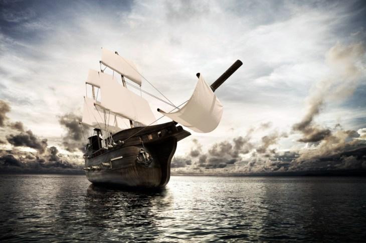 黒船の来航 (1853年)  :  <br>江戸幕府に「開港」を迫る!