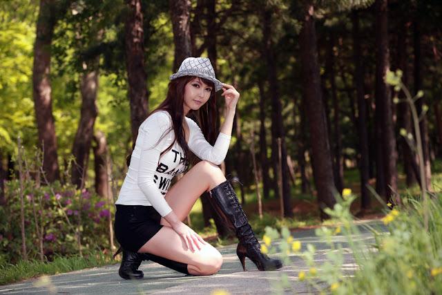 1 Kang Yui - The Band Is With Me-very cute asian girl-girlcute4u.blogspot.com