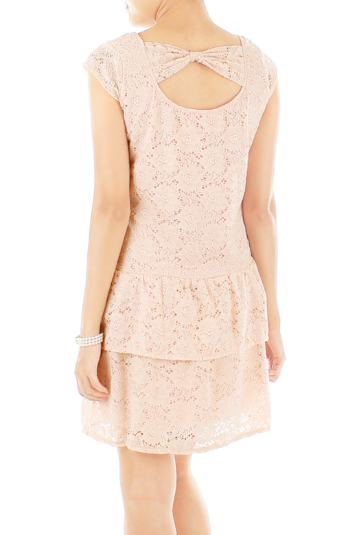 Adore Lace Dress – Light Pink
