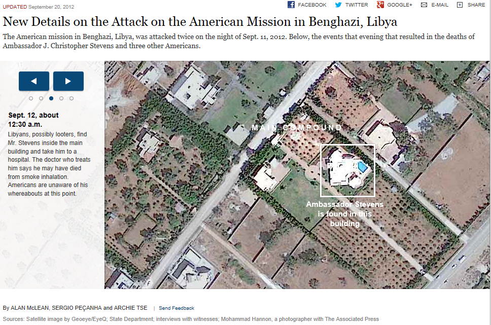 Truth On Target September - Benghazi us consolate attack on google maps