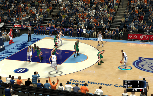 Bobcats HD Court | NBA 2K14 PC Mod