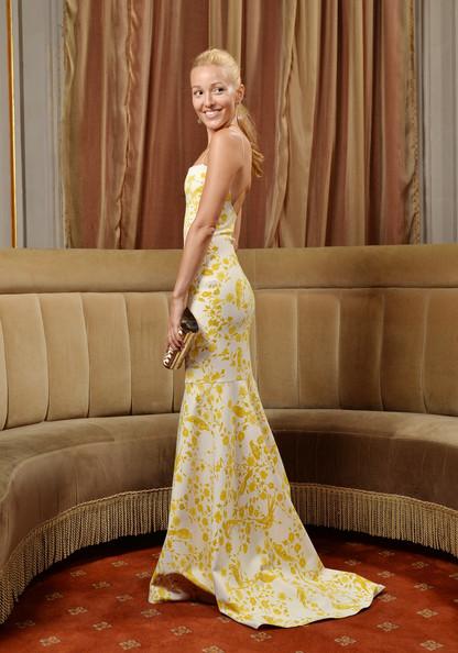 Jelena Ristic Wes Gordon Dress