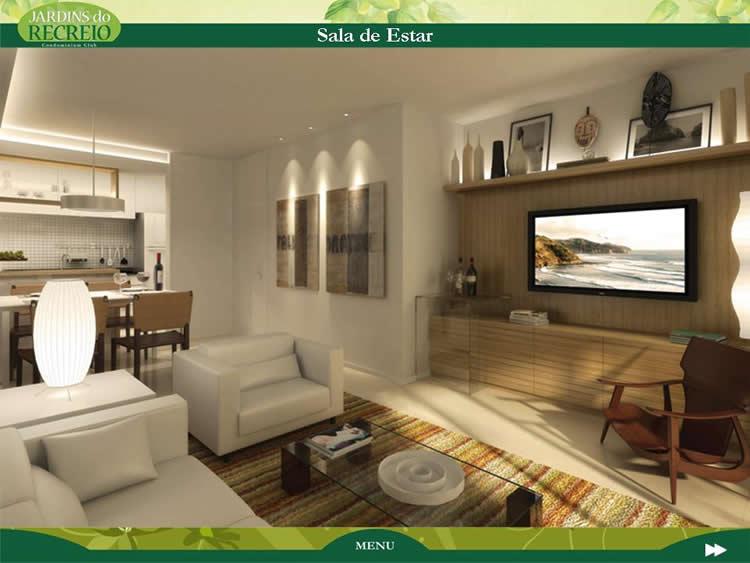 Sala De Estar Facebook ~ com o estilo da casa salas conjugadas com cozinha ou com a sala de