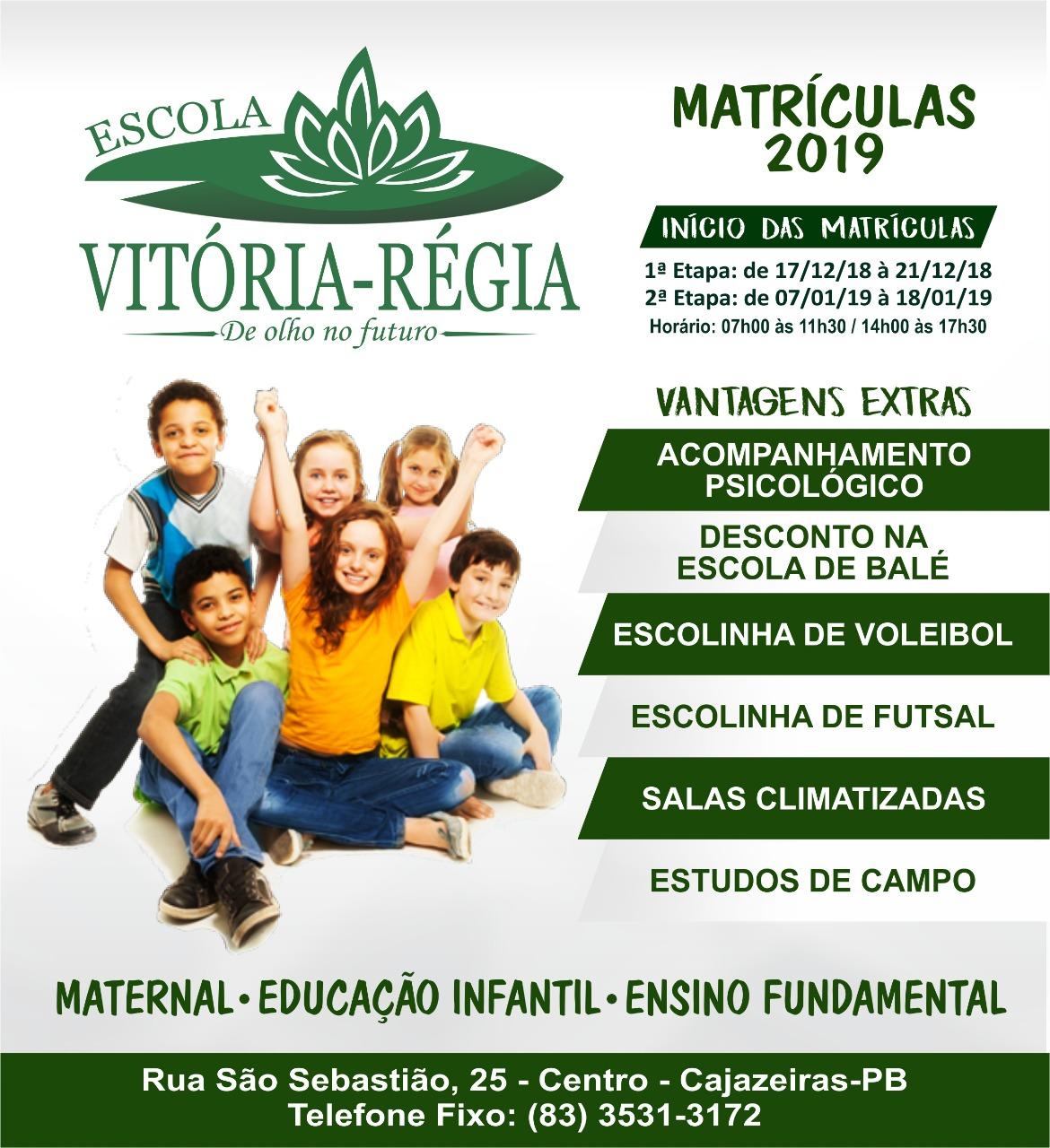 Escola Vitória Régia (83)3531-3172