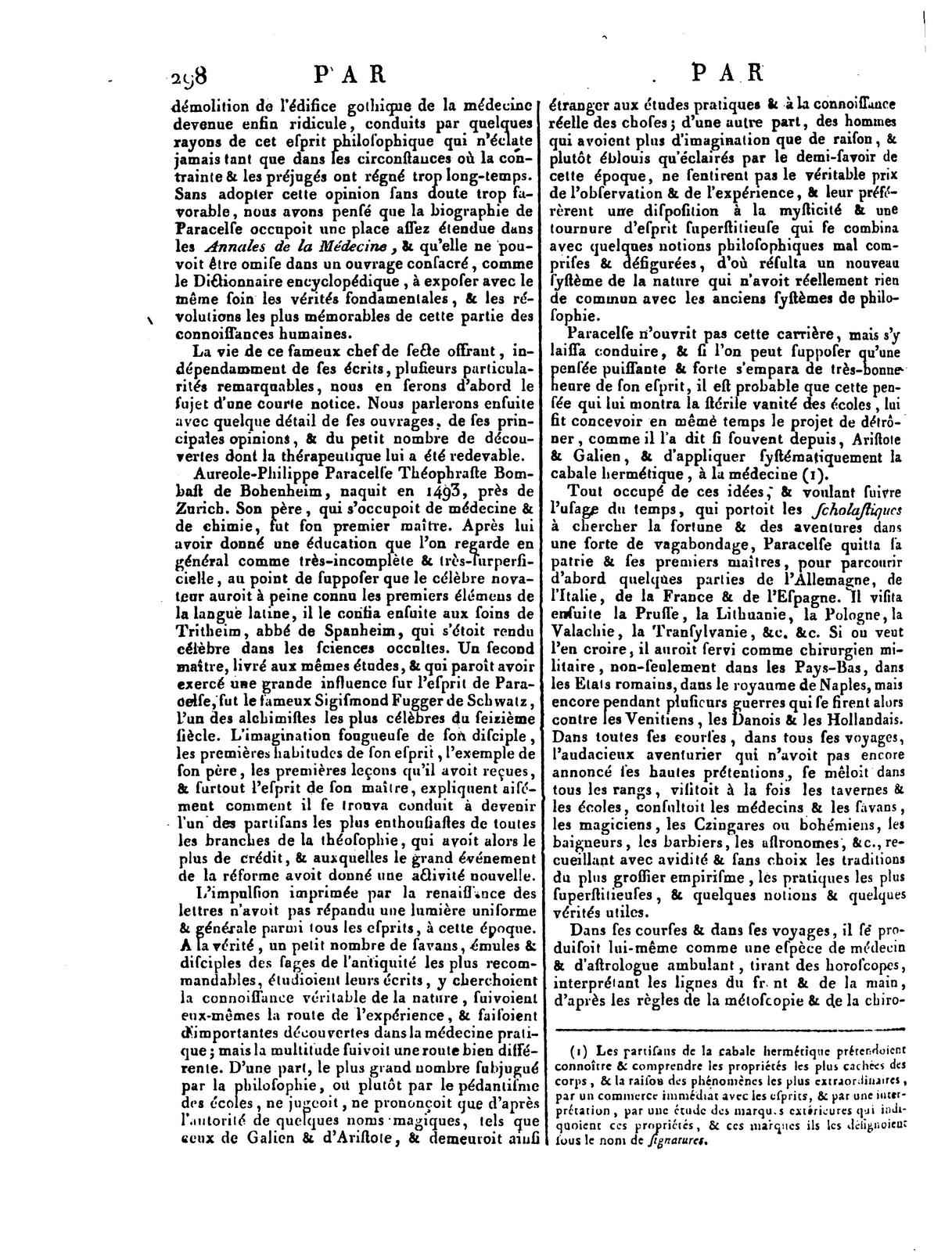 rousseau articles encyclop die