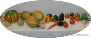 plastic vegetables