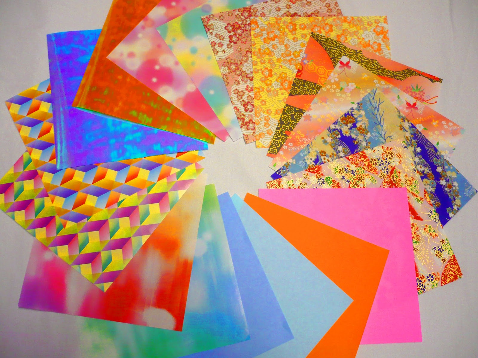 where do you get origami paper world information