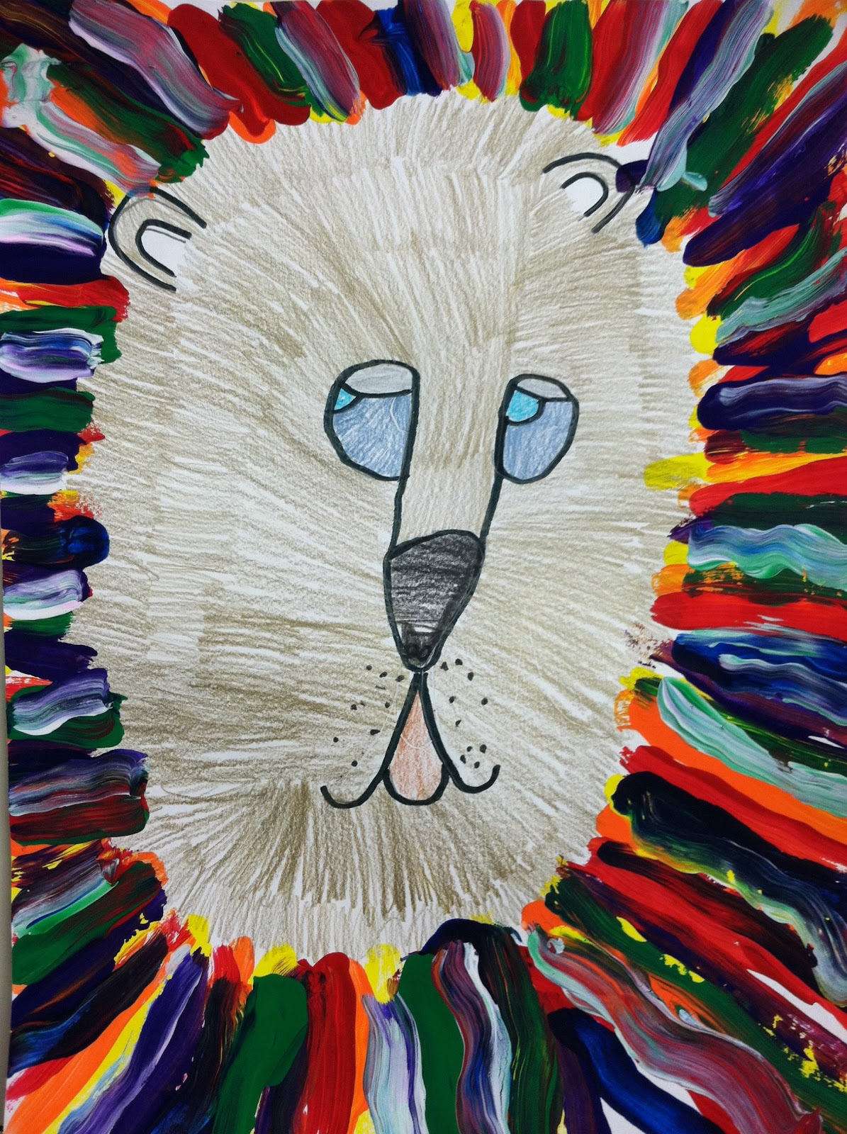 brightest crayon in the box fauvist lions