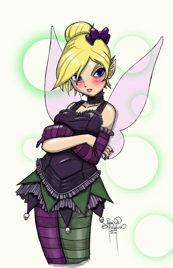 Tinker Bell Gothic Loli por sykoeent