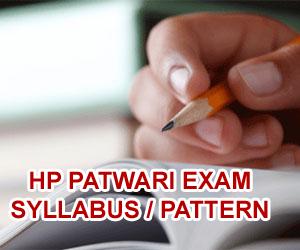 Himachal Patwari Exam Syllabus 2015, HP Patwari Syllabus Latest, Himahcal Pradesh Patwari Exam Pattern 2015, HP Patwari Previous Question Papers, Himachal Pradesh Previous Model Test Papers 2015, HP Patwari Exam Syllabus 2015