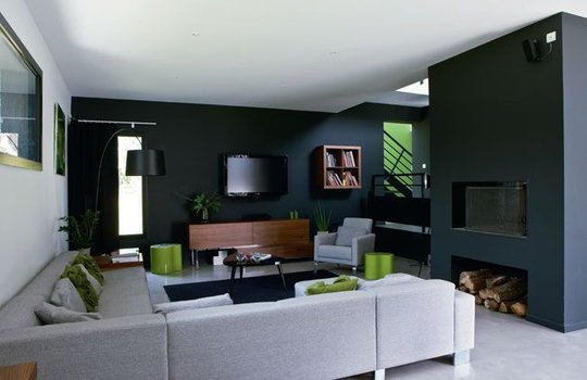 Nemm design lifestyle october 2011 - Peinture murale interieur maison ...