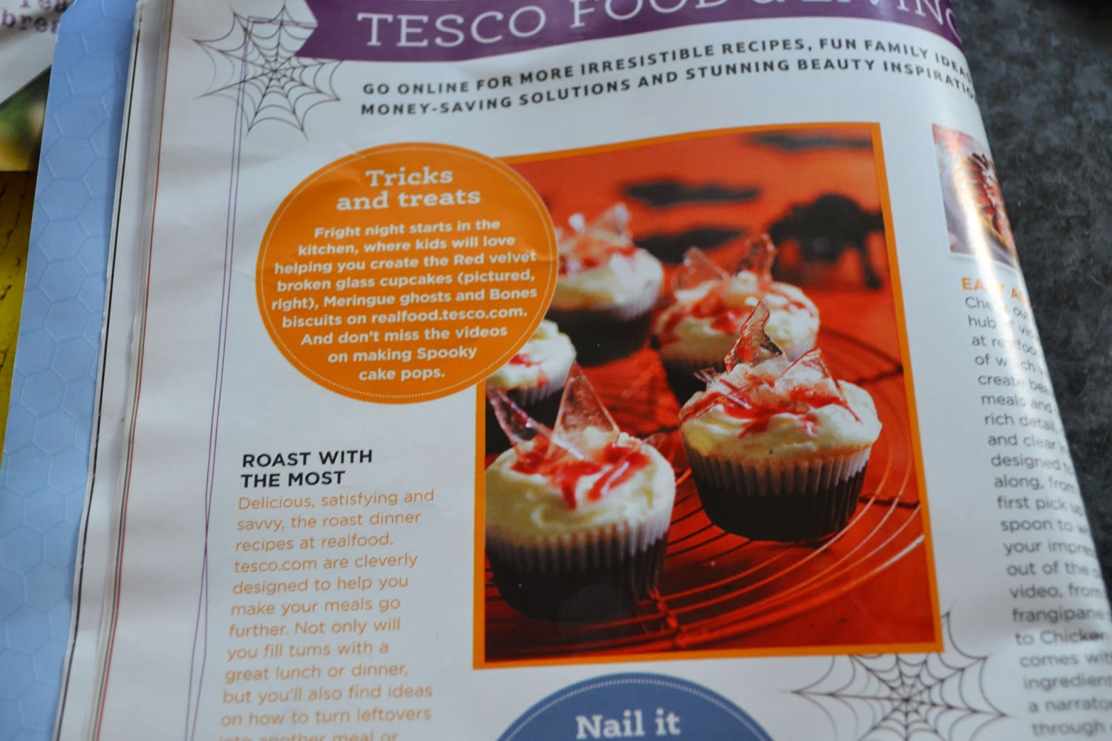 Tesco Broken Glass Cupcakes