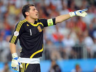 Profil dan Biodata Iker Casillas Kiper Timnas Spanyol Euro 2012