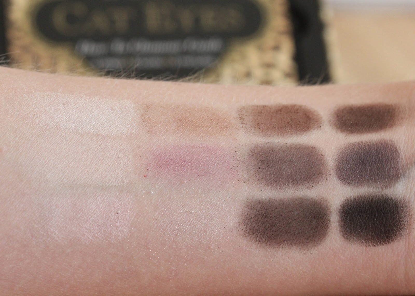 New from Too Faced: Cat Eyes Palette swatch