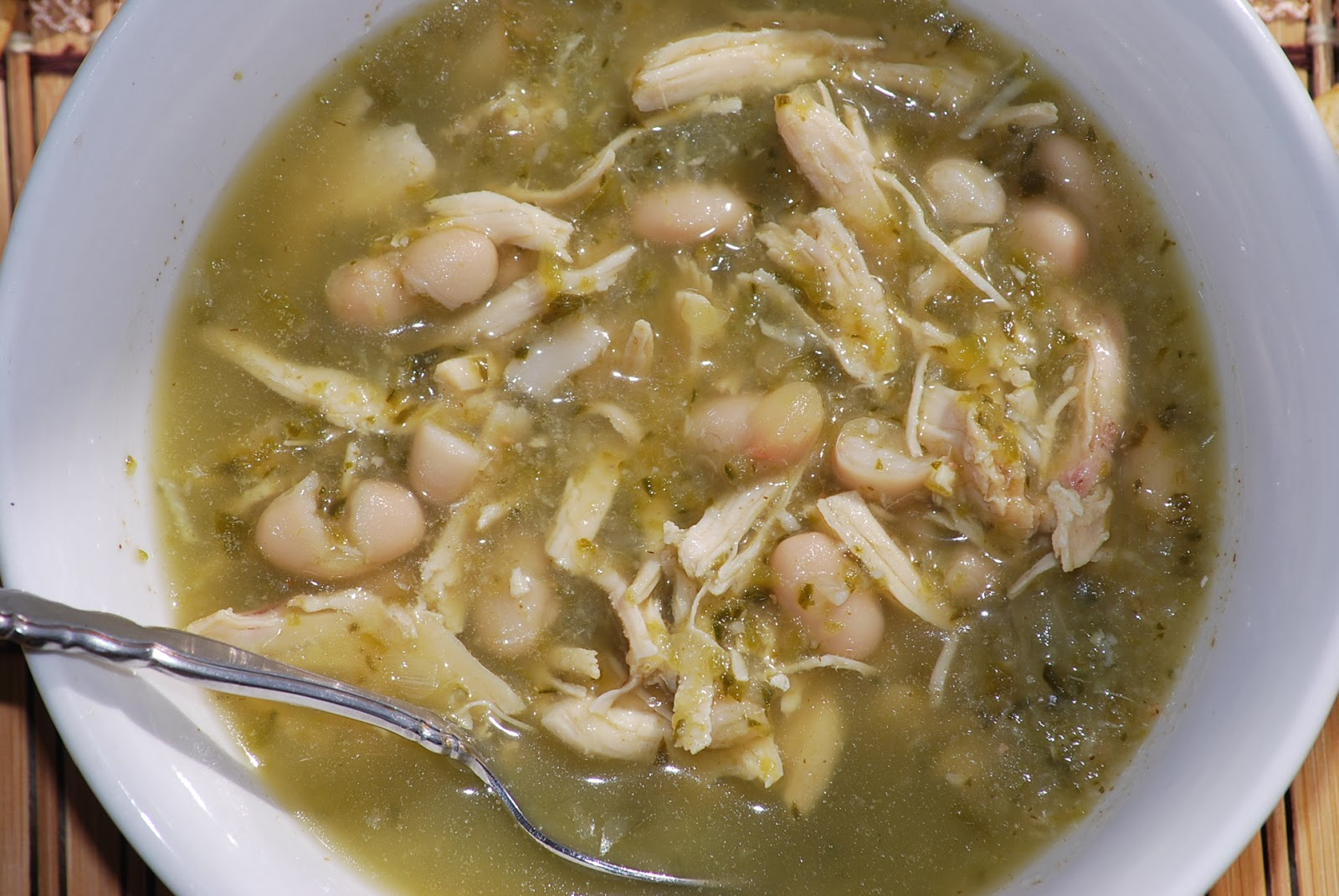 My story in recipes: White Chicken Chili
