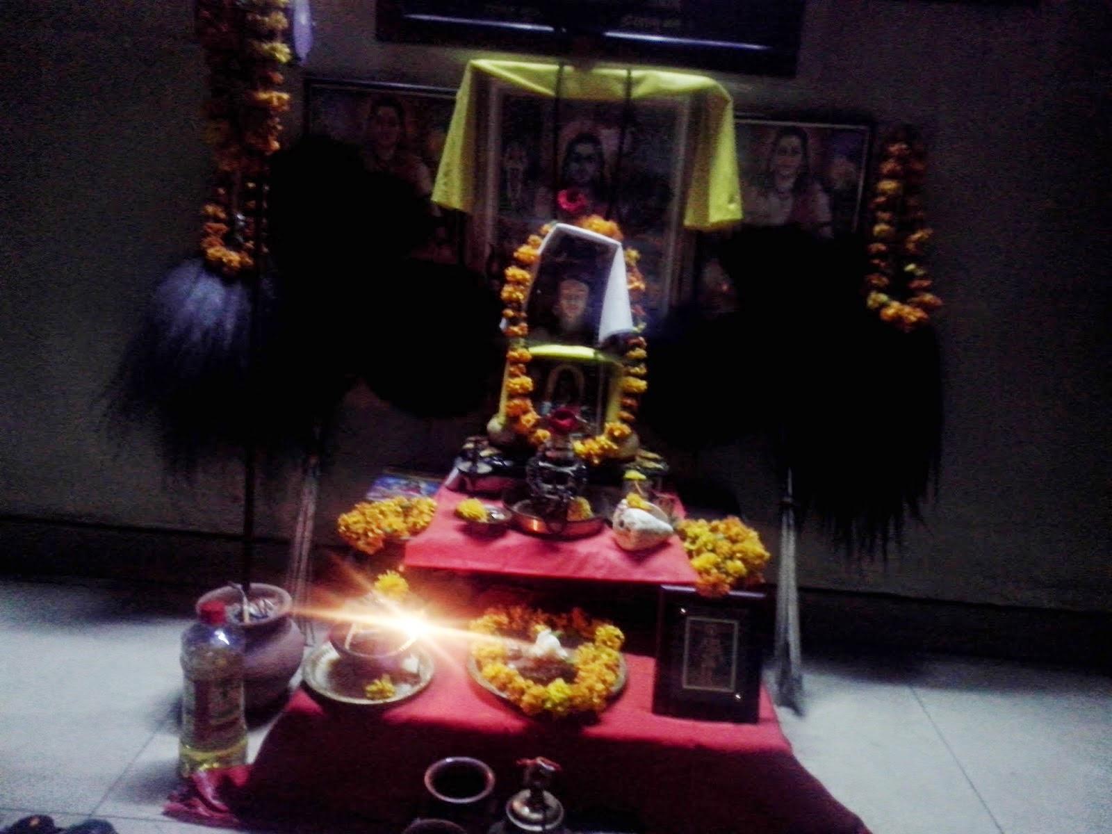 """Guru Gorakshnath Appeared To Bhuwan From Naturally Created """"Sudarshan Chakra""""."""