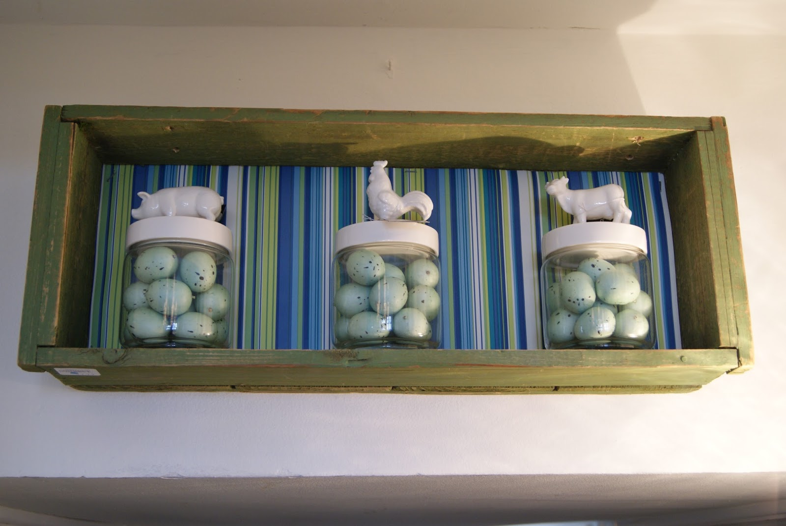 Spring 14 Ideas House by nest full of eggs