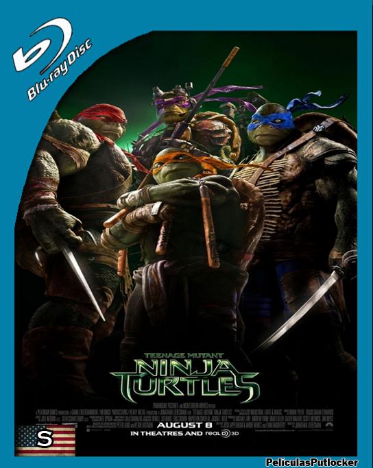 Las Tortugas Ninja [BrRip 720p][Subtitulada][SD-MG-1F]