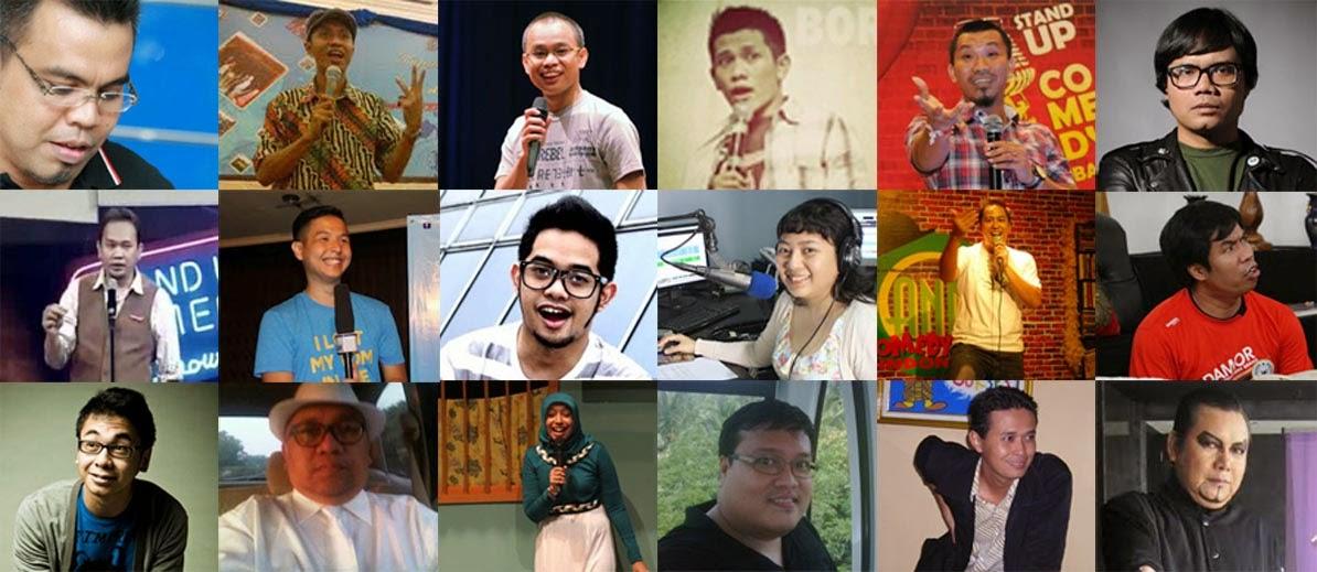 20 nama Stand Up Comedian yang di kenal di indonesia