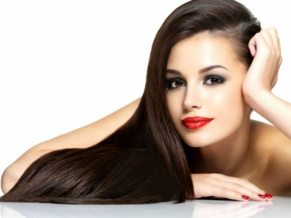 شعر قوى صحى لامع حرير مفرود - healthy hair strong shiny
