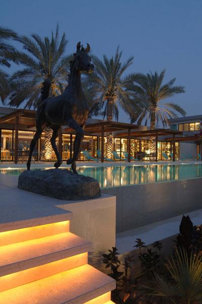 Luxury life design desert palm retreat dubai voted for Boutique design hotel dubai