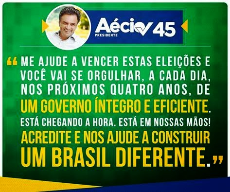 Aécio Neves, Presidente do Brasil!