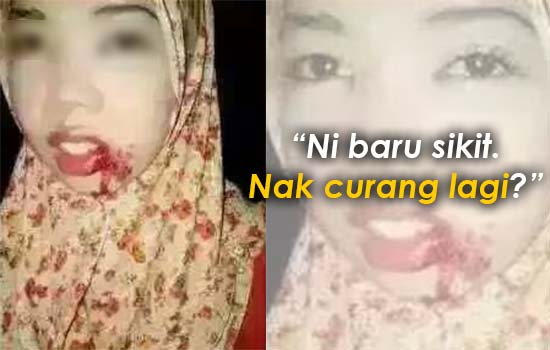 Balasan Curang, Isteri Dimalukan di Laman Sosial