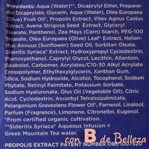 Extracto de Própoleo y aceite de geranio