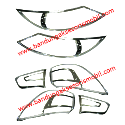 Garnish Depan Belakang 6 Pcs All New Sportage 2011