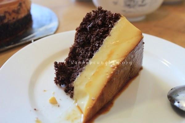 Cách làm bánh gato Caramen - Flan Gateaux