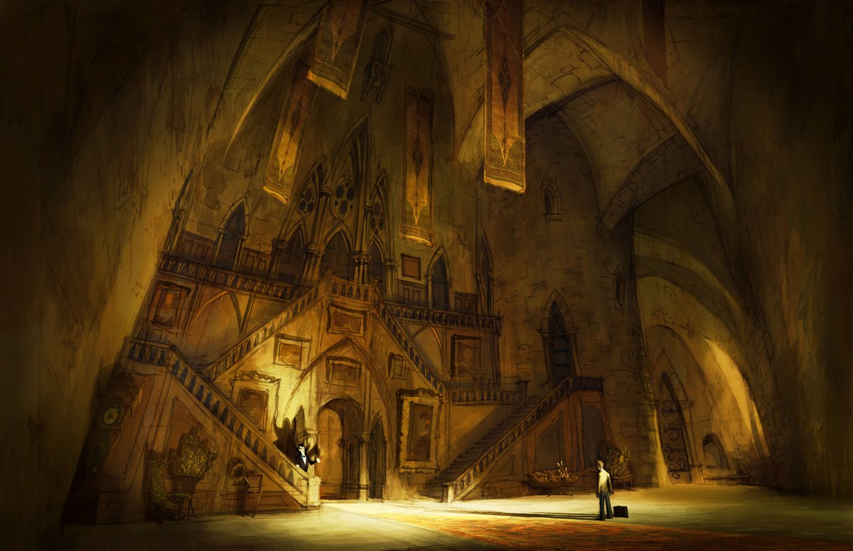 Living lines library hotel transylvania 2012 visual for Hotel concept