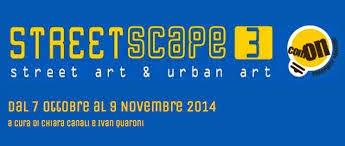 Dal 7 ottobre al 9 novembre: StreetScape3 comON. L'arte invade Como